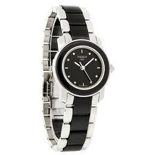 Tissot Cera Diamond Ladies Black Ceramic Swiss Quartz Watch T064.210.22.056.00