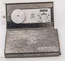 "Rare - Jen Clip Leica & Kardon RF Camera Base 1/4""-20 Flash Shoe Adapter Bracket"