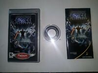 PSP STAR WARS THE FORCE UNLEASHED Playstation PSP Classic Game *