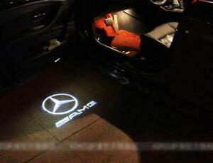 2 X Car Door LOGO PROJECTOR Puddle Light Mercedes E Class Coupe
