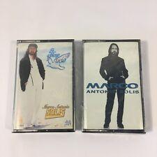 Marco Antonio Solis Cassette Lot Of 2 Tapes Pleno Vuelo Los Bukis Fonovisa New