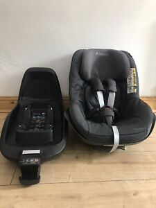 Maxi-Cosi i-Size 2way FamilyFix Isofix Base & 2way Pearl Car Seat Group 1 Seat