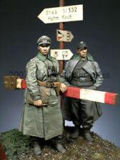 Alpine Miniatures 1:35 WWII German Officer 2 Resin Figures Set #35056