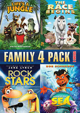 Family Quad Feature, Vol. 8 (DVD, 2013)