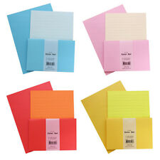 1set Vivid Colorful Letter 9sh Lined Blank writing stationery paper 4sh Envelope