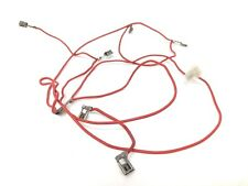 Genuine Belling 444440534 Bundle of 2x Wires Red E12HR
