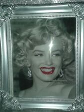 SALE!!! Marilyn Monroe Glitter Canvas Picture wall art-PRINT ONLY-NO FRAME. A4