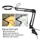 Swing Arm Table Lamp Eyecare Desk Lamp Light Tattoo Beauty Nail Lamp Clamp Clip