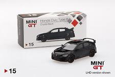 Mini GT Honda Civic Type R (FK8) 2017 (LHD)(Crystal Black) MGT00015 1/64