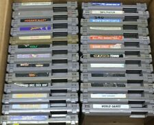 Discounted Nintendo NES Lot Of 25 Games- Dr. Mario, TMNT, Duck Tales, Bomberman