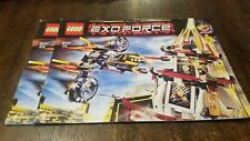 LEGO Exo-Force Fight for the Golden Tower - (8107) - Instruction Manuals Only