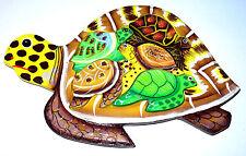 Puzzle en bois Tortue Artisanal Jeux Animal Jouet Assemblage Eveil Enfant Jeu