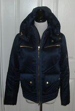NWOT Ralph Lauren Golf Women's Winter Jacket With Hood Size S Color Navy $ 298