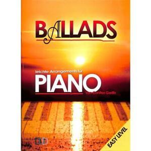 Ballads easy level - Noten für Klavier