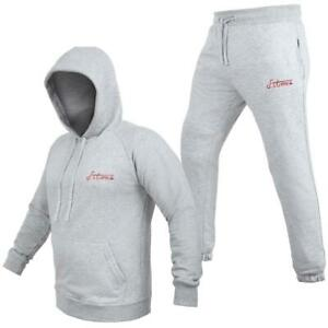Herren Joggingsuit aus Baumwolle Freizeitanzug Trainingsanzug Hausanzug fitoxs