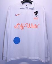 Nike x Off White Football Mon Amour White Black Soccer Jersey Men's Large Lg New