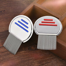 Stainless Steel Nit Free Hair Comb Brushes Lice Terminator Fine Egg Dust Removal