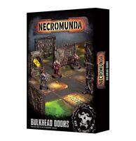 Necromunda Bulkhead Doors Games Workshop Gelände Terrain Tür Gang War Underhive