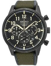 Seiko Gents Military Style Chronograph Watch - SSB369P1 NEW