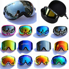 Double-layer Lens Pro Skiing Snowboarding Goggles Anti-UV Snow Ski Goggles Box