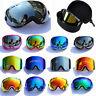Double-layer Lens Pro Skiing Snowboarding Goggles Anti-UV Snow Ski Goggles Box