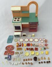 Vintage Pedigree Sindy Doll Kitchen Cafe Set - Including Accessories - 1980's