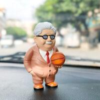Slamdunk old man PVC figure figures doll action toy dolls model gift hot