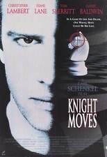 KNIGHT MOVES Movie POSTER 27x40 Christopher Lambert Diane Lane Tom Skerritt