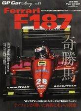 GP Car STORY vol.11 Ferrari F187 Japanese book Gerhard Berger