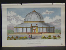 Garden Plans & Structures, c.1853 Hand Colored #01