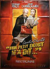 Affiche MON PETIT DOIGT M'A DIT André Dussollier CATHERINE FROT 120x160cm *D