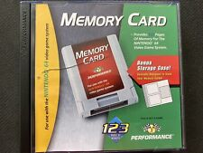 Performance Memory Card Plus For N64