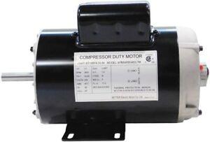 "198FA 3.7HP Compressor Duty Electric Motor, 3450RPM, 56 Frame, 5/8"" Shaft, 120/2"