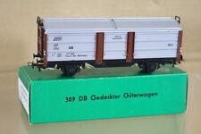 KLEINBAHN 309 DB GEDECKTER GÜTERWAGEN SLIDING DOOR GOODS WAGON 377045 ni
