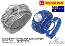 Genuine Swarovski Bracelet Shine Activity Health Fitness Tracker 4pc Gift Set