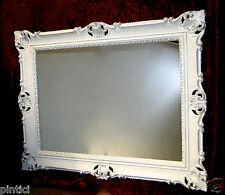 Specchio da parete Barocco Grande bianco silber90x70 CORNICI FOTO MATRIMONIO