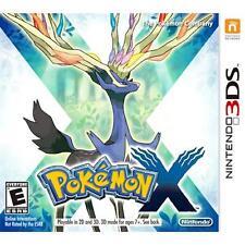 NINTENDO 3DS POKEMON X - VIDEO GAME - *BRAND NEW SEALED*