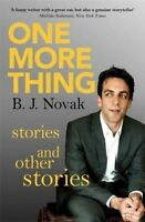 One More Thing, B. J. Novak
