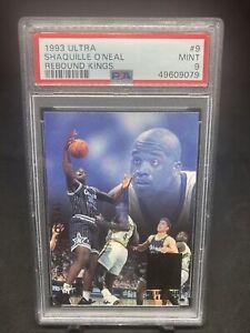 1993-94 Shaquille O'neal Fleer Ultra Insert Rebound Kings #9 PSA Graded 9 Mint