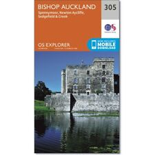 OS Explorer map 305: Bishop Auckland - Spennymoor and Newtown