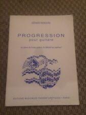 Gérard Rebours Progression Pour Guitare 10 Pièces De Niveau Graduel.