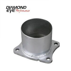 Diamond Eye Exhaust Flange, 2001-2007.5 Chevy/Gmc 6.6L Duramax 2500/3500 (All