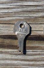 Vintage  Yale HL 9 Key Suitcase Traincase Luggage  Key Yale Key HL 9     HL9 Key