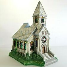PartyLite -The Church - Olde World Village #2 Collection Tea Light Candle Holder