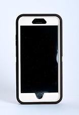 iPhone 6s Plus iPhone 6 Plus Case w/Belt Clip fit Otterbox Defender -Black/White
