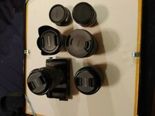 Sony Alpha A7 II 24.3MP Digital Camera with many quality lenses. Low shutter.