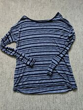 Gap Medium Women's Long Sleeve Striped Shirt