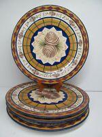 "Field & Stream by Zrike Danna Cullen Designs 11 1/8"" Dinner Plates Bundle of 4"