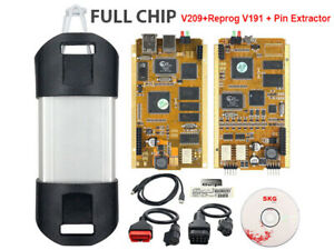 Can Clip Full Chip V209 Car Diagnostic Tool for Renault (98-19) With Gold PCB