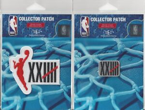 2021 WNBA 25th Anniversary Patch Pair - Set of 2 - Sew Iron On Official Logo